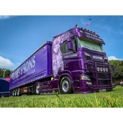 Pare-soleil Coles Custom Mexicano pour Scania NextGen