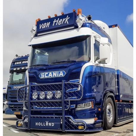 Scania S+R NTG - Visière ALU 4MM